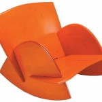 Orange Doveseat